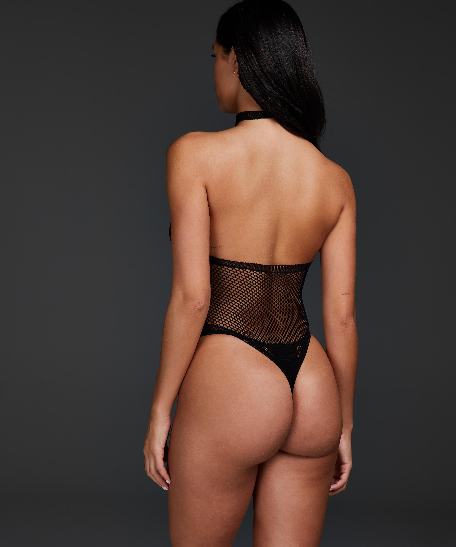 Private Bodysuit, Zwart, main