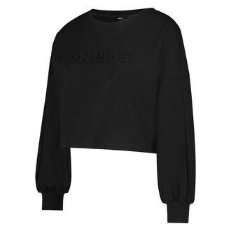 HKMX Cropped Sweater Doutzen, Zwart