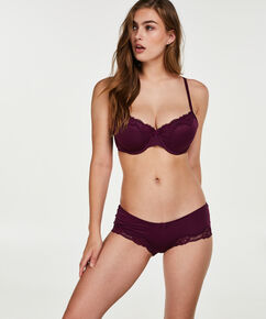 Boxer Secret lace, Paars