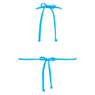 Triangle bikinitop Reversible, Blauw