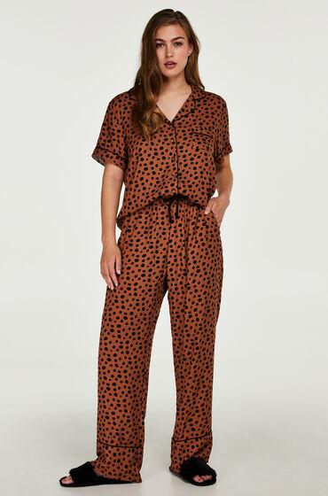 Hunkemöller Pyjamabroek Bruin