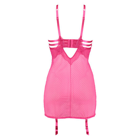 Slipdress Juliette, Roze