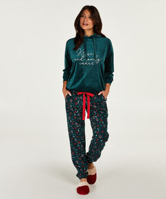 Pyjamabroek Holidays, Groen