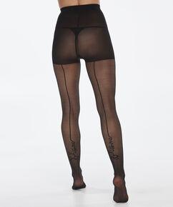 Panty 20 Denier Kiss Me, Zwart