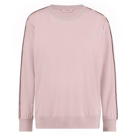 Lange mouwen sweater, Roze