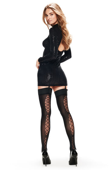 Hunkemöller Stocking 30 Denier Corsetry Zwart