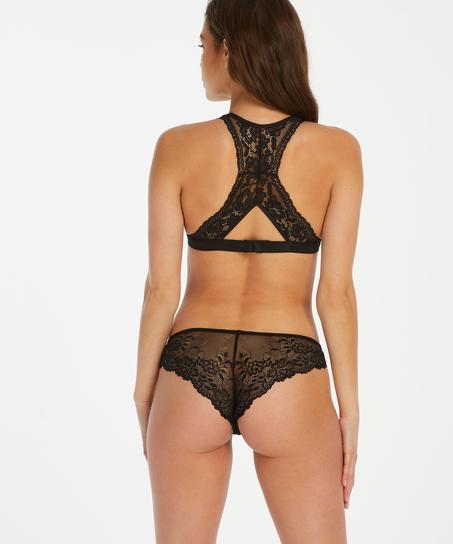 Brazilian Crystal Lace, Zwart