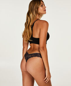 Invisible string Lace back, Grijs