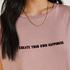 Nachthemd ronde hals, Roze