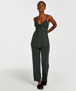 Pyjamaset Vera Lace, Groen