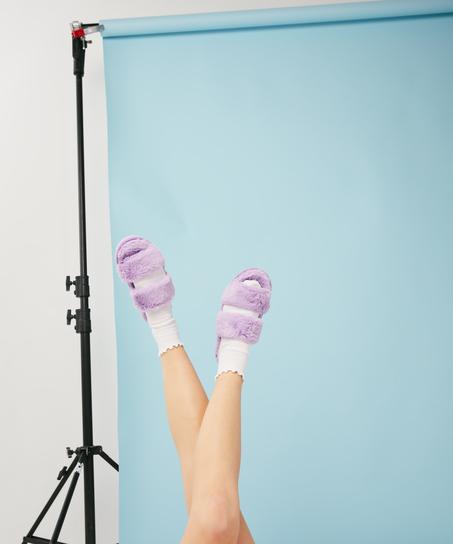 Pantoffels slipper Snuggle Me, Blauw