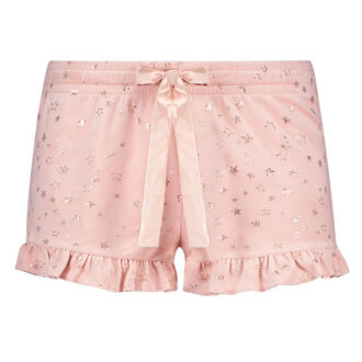 Short Velours Lace, Roze