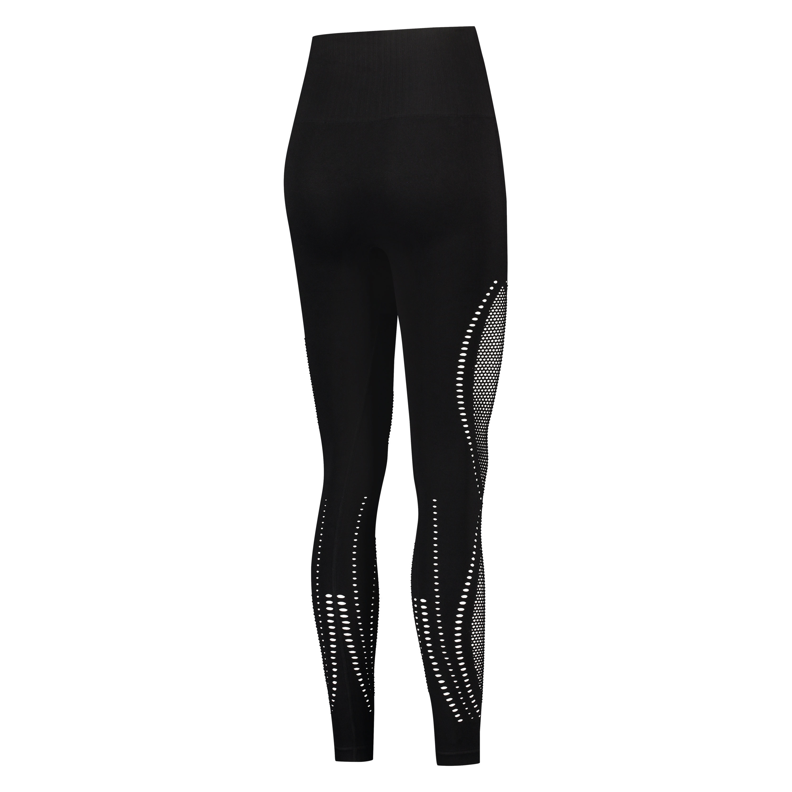 HKMX High waist naadloze sportlegging Comfort, Zwart, main