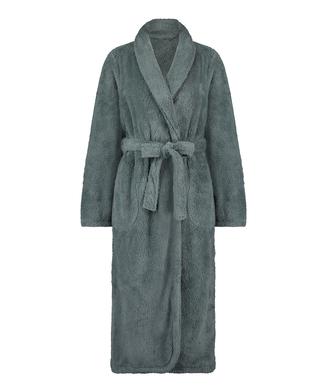 Lange badjas Fleece, Groen