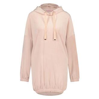 Badjas Velours Dress, Roze