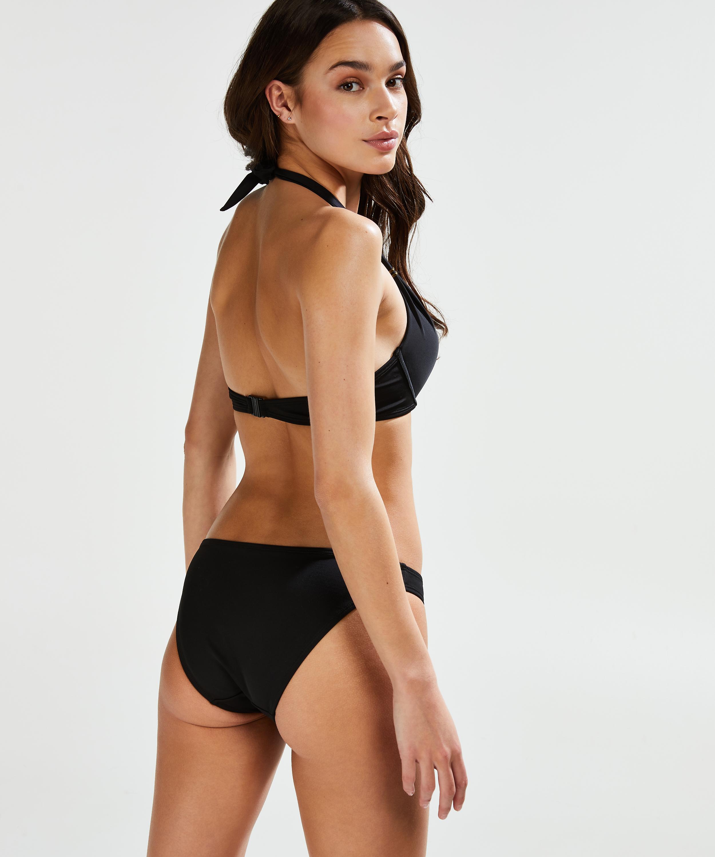 Voorgevormde push-up bikinitop Sunset Dream Cup A - E, Zwart, main