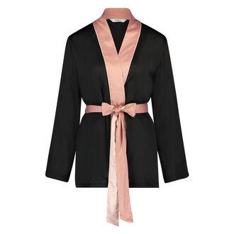 Pyjama jasje Satin Nightshade Doutzen, Huidskleur