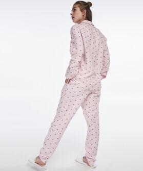 Pyjama broek Chambray, Roze