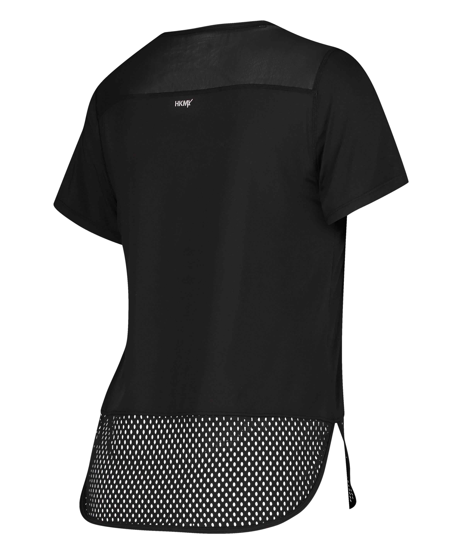 HKMX T-shirt Performance, Zwart, main