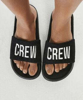 Slippers, Zwart