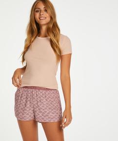 Pyjama shorts, Roze