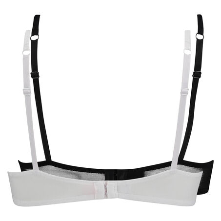 2 voorgevormde T-shirt bhs Micro, Wit