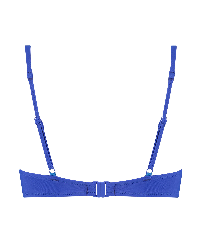 Push-up bikinitop Luxe Cup A - E, Blauw, main