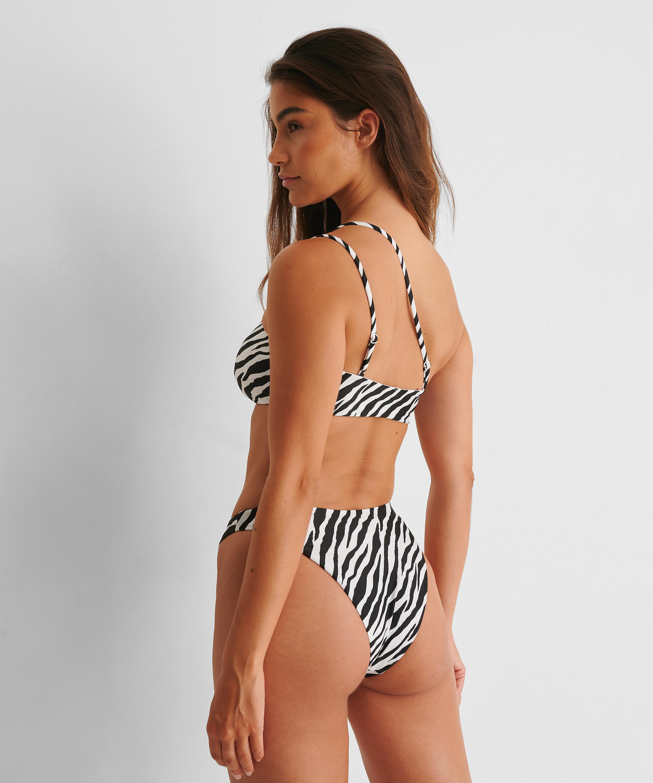 Bandeau bikinitop HKM x NA-KD, Wit, main