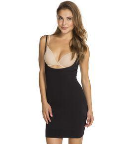 Naadloze WYOB corrigerende jurk, Zwart