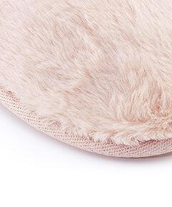 Huisslippers Fake Fur, Roze