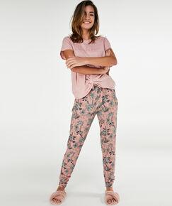 Image of Hunkemöller Pyjamabroek Jersey Roze