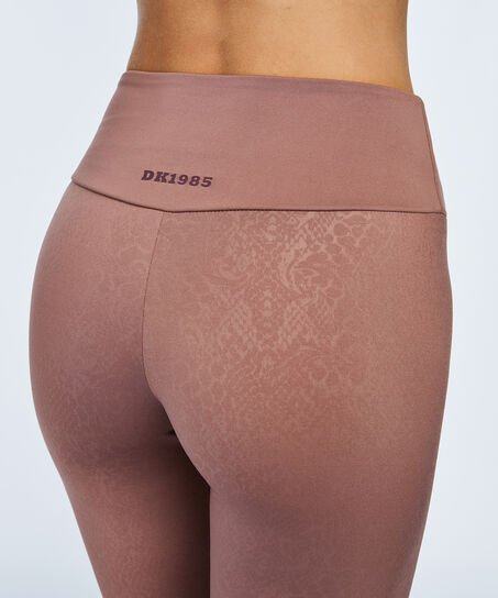HKMX High Waist sportlegging Doutzen, Bruin