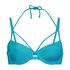 Voorgevormde beugel bikinitop Celine, Blauw