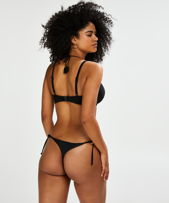 Voorgevormde beugel bikinitop Sunset Dream, Zwart, main