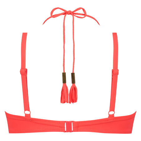 Voorgevormde beugel bikinitop Afia, Oranje