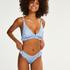 High leg bikinibroekje Julia, Blauw
