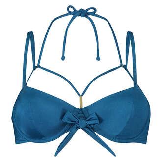 Voorgevormde beugel bikinitop Sunset Dream, Blauw
