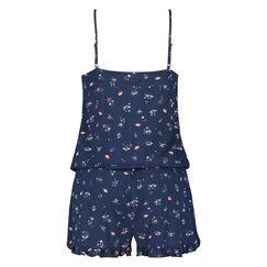 Onesie Short Jersey, Blauw