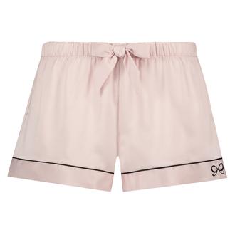 Pyjama short Satin, Roze