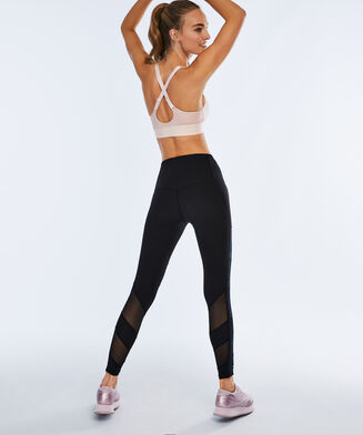 HKMX Sport Bh The Crop Level 1 Doutzen, Roze