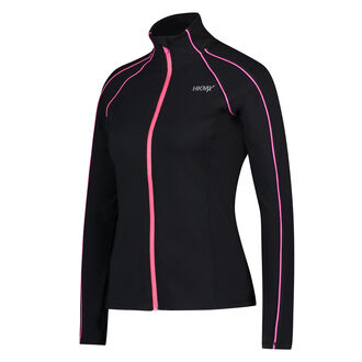 HKMX Running jacket, Zwart