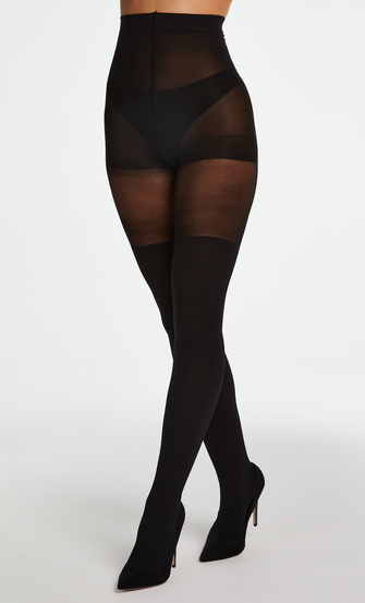 Panty 50 Denier Overknee sock, Zwart
