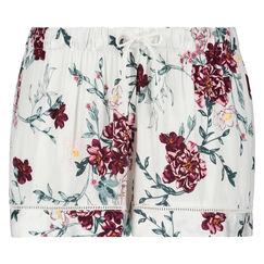 Pyjama short Woven, Wit