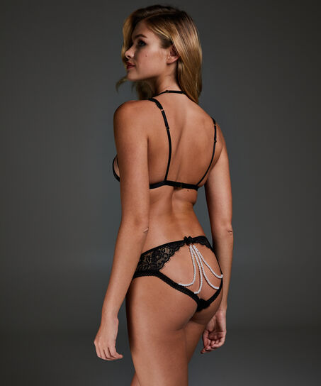 Bralette Felicia, Zwart