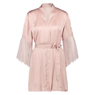 Kimono Satijn Lily, Roze