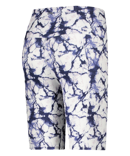 HKMX Cycling short Marble, Wit