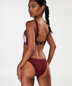 HKMX Laag cheeky bikinibroekje, Rood