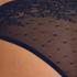Invisible brazilian Allover Lace, Blauw