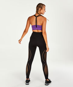 HKMX sport bh the comfort mesh level 1, Paars
