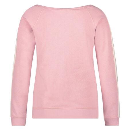 Sweater off-shoulder , Roze